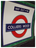 Take a trip to Colliers Wood